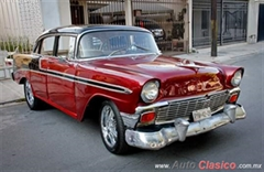 Día Nacional del Auto Antiguo Monterrey 2019 - Chevrolet Bel air 1956