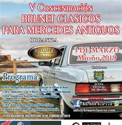 Más información de 5a Concentración Brunet Clásicos Para Mercedes Antiguos