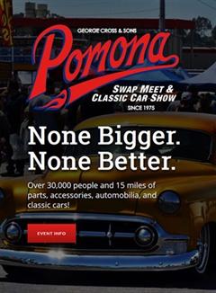 Pomona Swap Meet & Classic Car Show March 2020