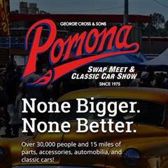 Más información de Pomona Swap Meet & Classic Car Show March 2020