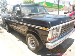achaparrar ford pick up 79 con llantas 295