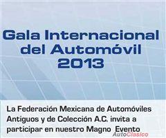 Más información de Gala Internacional del Automovil 2013