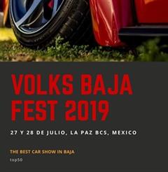 Más información de Volks Baja Fest 2019