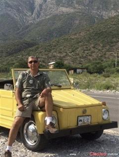 Día Nacional del Auto Antiguo Monterrey 2020 - Volkswagen Safari 1977
