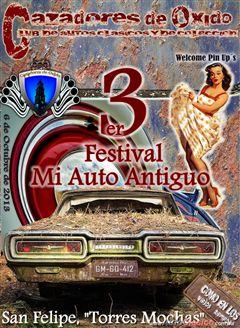 3er Festival Mi Auto Antiguo en San Felipe Torres Mochas Guanajuato 2013