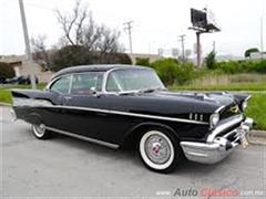 Día Nacional del Auto Antiguo Monterrey 2019 - chevrolet bel air 1957