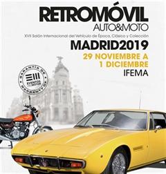 Más información de Retromóvil Madrid 2019