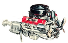 Motor Hudson V8 1955-1957