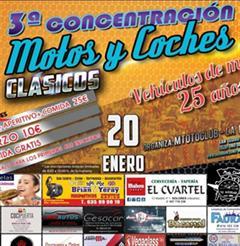 Más información de 3a Concentración de Motos y Choches Clásicos, San Isidro Alicante