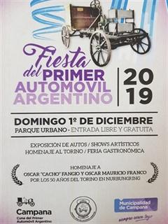 Fiesta Del Primer Automóvil Argentino 2019