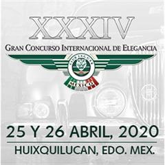 Más información de Gran Concurso Internacional de Elegancia XXXIV