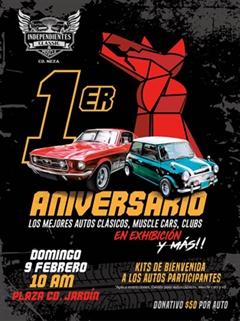 1er Aniversario Independientes Classic & Muscle Neza
