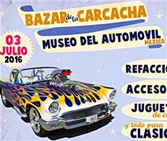 Más información de Bazar de la Carcacha - Museo del Automóvil - Julio 2016