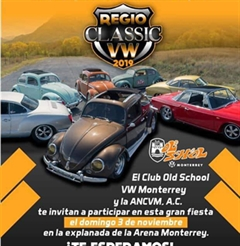 Más información de Regio Classic VW 2019
