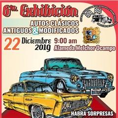 Más información de 6a Exhibición Autos Clásicos Antiguos & Modificados