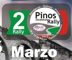 Más información de 2o Rally Zacatecas - Salinas - Pinos