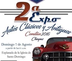 Más información de 2a Expo Autos Clásicos y Antiguos Comitan Chiapas 2016