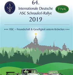 Más información de 64 Internationale Deutsche Asc Schnauferl-Rallye 2019