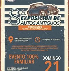 Más información de 8a Exposición de Autos Antiguos Pachuquilla