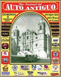 Día Nacional del Auto Antiguo Zacatecas 2020