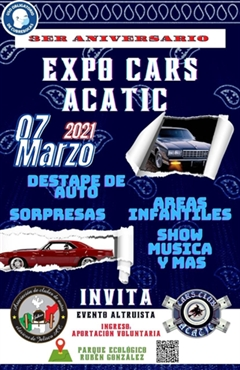 3er Aniversario Expo Cars Acatic