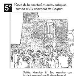 Más información de 5o Paseo de la amistad en autos antiguos, rumbo al Ex - Convento de Calpan