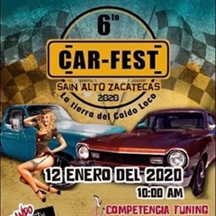 Más información de 6o Car Fest, Sain Alto, Zacatecas