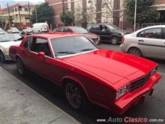 Día Nacional del Auto Antiguo Monterrey 2020 - Chevrolet Montecarlo 1981