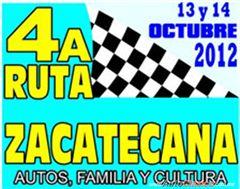 Más información de 4a Ruta Zacatecana