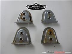 conchas para postes de puerta para Karmann Ghia