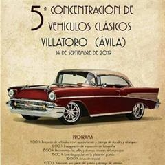 Más información de 5a Concentración de Vehículos Clásicos Villatoro