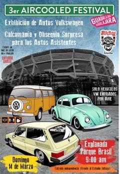 3er Aircooled Festival Guadalajara