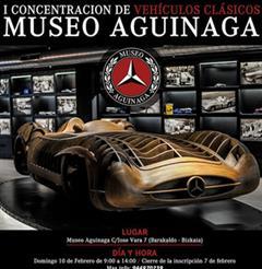 Más información de I Concentración de Vehículos Clásicos Museo Aguinaga