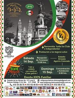 14 Aniversario Antiguos y Clasicos Dolores Hidalgo CIN, Guanajuato A.C.