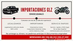 Legalizacion de autos - Importaciones Glz