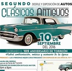 Más información de Segundo Desfile y Exposición de Autos Clásicos Antiguos Torreón