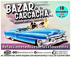 Bazar de la Carcacha - Museo del Automóvil - Noviembre 2019