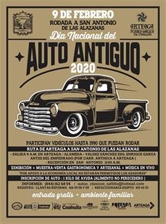 Dia Nacional del Auto Antiguo Saltillo 2020 - Rodada a San Antonio de las Alazanas