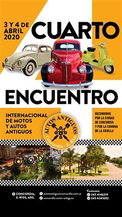 Cuarto Encuentro Internacional de Motos y Autos Antiguos