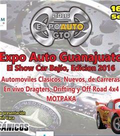 Más información de Expo Auto Guanajuato 2016