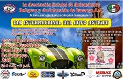 Día Internacional del Automóvil Antiguo Durango 2019