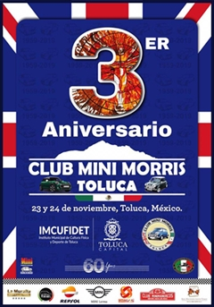 3er Aniversario Club Mini Morris Toluca