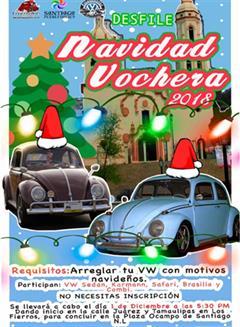 Más información de Desfile Navidad Vochera Monterrey 2018