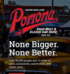 Más información de Pomona Swap Meet & Classic Car Show