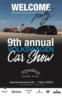 9th Annual Volkswagen Car Show Laredo Texas