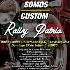 Más información de Somos Custom Rally Patria 2020