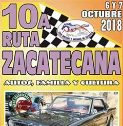 Más información de Décima Ruta Zacatecana