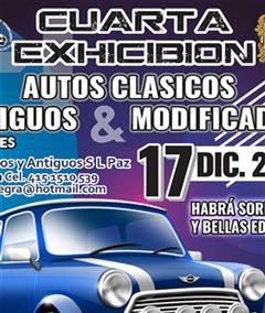 Más información de Cuarta Exhibición Autos Clásicos, Antiguos & Modificados