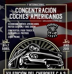 Más información de 1a Concentración Coches Americanos