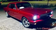 Día Nacional del Auto Antiguo Monterrey 2020 - Ford Mustang 1966